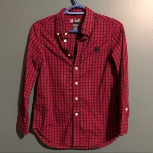 Boys Chaps button down dress shirt